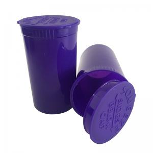 Child Resistant Pop Top Vials