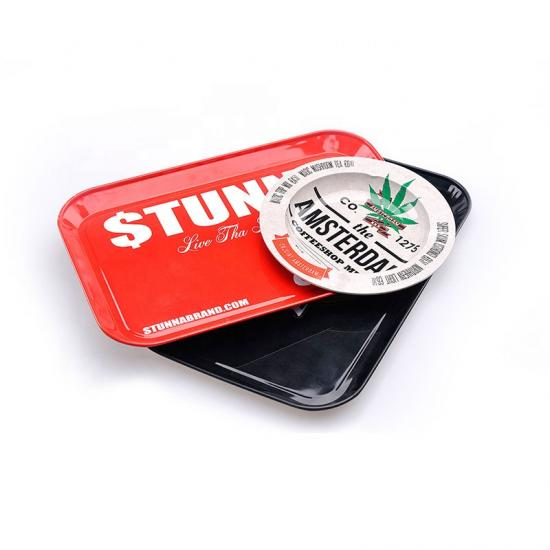 Custom Rolling Tray Metal Tobacco Weed Tin Tray - SafeCare