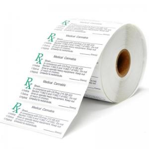 Different Types RX Medical Weed Labels,Factory Price RX