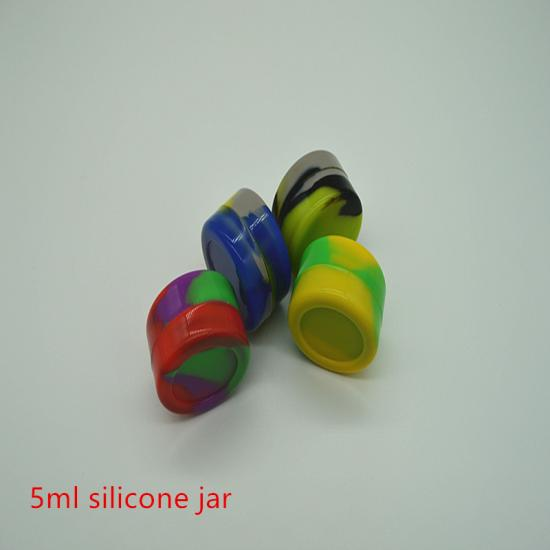 5ml Silicone Jars Dab Wax Container - SafeCare