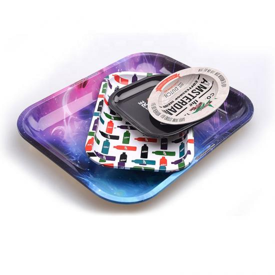 Custom Rolling Tray Metal Tobacco Weed Tin Tray