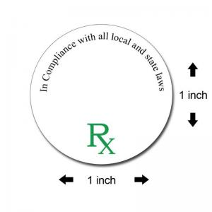 Small Round Medical Labels
