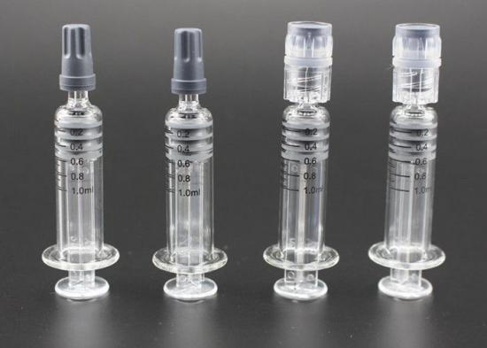 Lure Glass syringe
