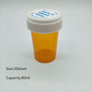 Reversible Cap Vials Dual-Purpose Medicine Bottles