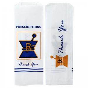 Kraft Pharmacy Prescription Paper Bags