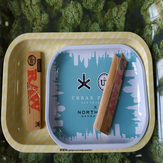 RAW Large Metal Rolling Tray