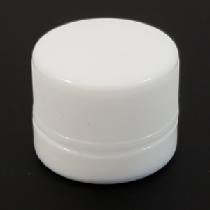 5ml White Child Proof Glass Jar With Child childproof cap - SafeCare