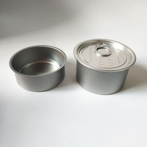 100% smell proof airtight ring pull machine seal tin cans for weed - SafeCare