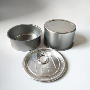 100ml custom design hand sealableing ring pull tin box for tuna - SafeCare