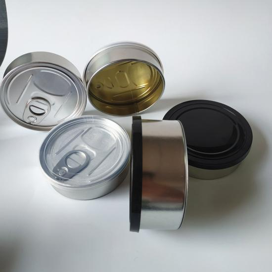 3.5gram tuan tin box with lid for food storage - SafeCare