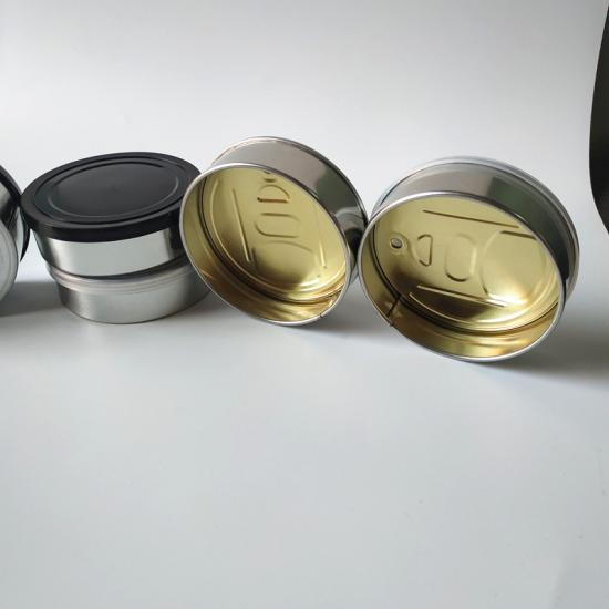 3.5gram tuan tin box with lid for food storage