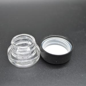 5ML Essential Oil Clear Glass Container with Round Child Proof Lid - SafeCare