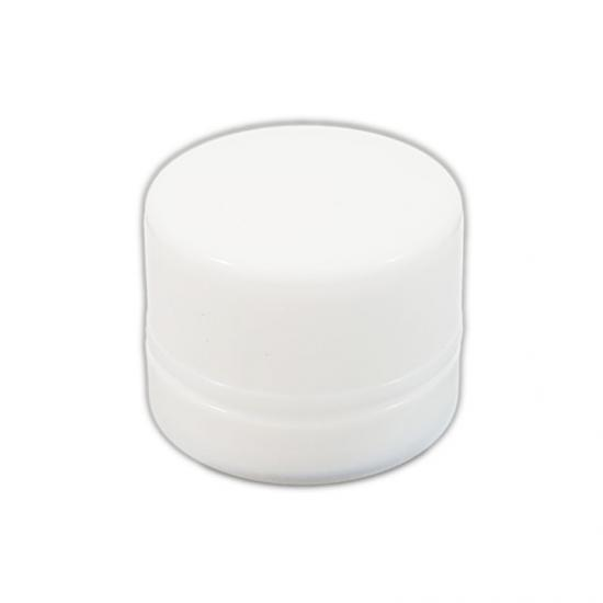 White Opaque Glass Concentrate Container