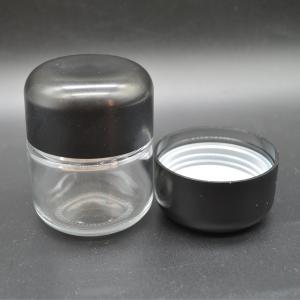 Child Proof Jar Child Resistant Cap Glass Jar for Weeds - SafeCare