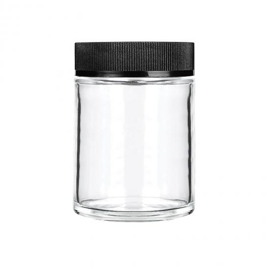 Child Resistant Packaging Glass Jars Weed Packaging With Screw Top Lid