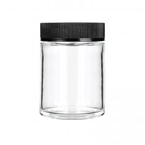 Dry Herb Hemp Packaging Child Resistant Glass Jars with Childproof Cap - SafeCare