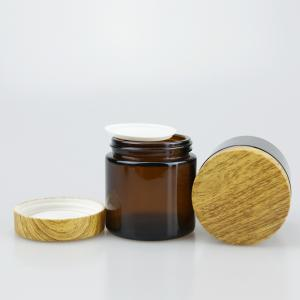 Childproof Glass Jars with Bamboo Child Resistant  Lid for Weed - SafeCare