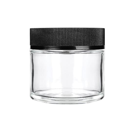 Child Resistant Packaging Glass Jars Weed Packaging With Screw Top Lid - SafeCare
