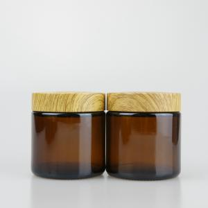 Child Resistant Glass Jars with Bamboo Childproof Lid for Weed - SafeCare