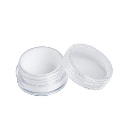 5ml Clear Acrylic Wax Concentrate Containers