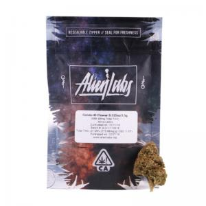 Alien Labs California Compliant Mylar Bags 3.5grams - SafeCare