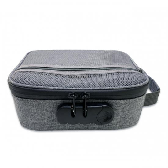Smell Proof Case With Ziplock Odorless Bag Business Travel Storage Container For Weed Cigar