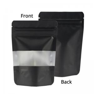 Mylar Bag Zipper Lock Stand Up Pouch Smell Proof Plastic Packaging Bag - SafeCare